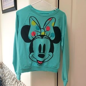 Minnie Mouse sweatshirt from Disney. Large
